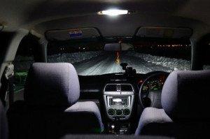 Фото про плавное затухание света в салоне, drive2.ru
