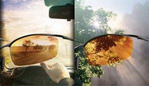 Фото о том, что такое поляризованные очки для водителей, opticbox.ru