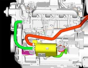 Фото установки пускового подогревателя двигателя легкового автомобиля, auto.ironhorse.ru