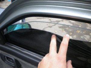 Фото о том, что такое съемная тонировка авто, 1gai.ru