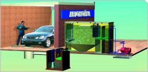 Фото системы очистки воды для автомойки, sptvr.ru