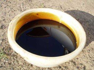 Фото - отработанное масло, как поменять масло в двигателе, oil-club.ru