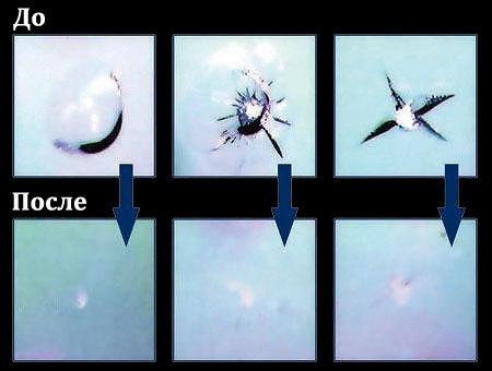 Трещина лобового стекла видео