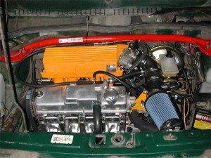 На фото - так выглядит атмосферный дизельный двигатель, moto-jawa.ru