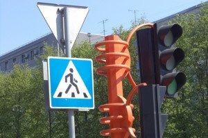 Фото - способ организации движения на перекрёстках, gazeta.a42.ru