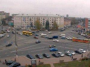 На фото - сложное движение по полосам на перекрёстке, tver.mk.ru