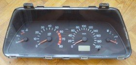 На фото - приборная панель Ваз 2110, arc-mobiles.com