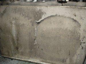 Фото - очистить и заклеить радиатор автомобиля, mayauto.ru