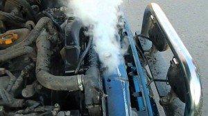 На фото - нужно запаять радиатор автомобиля, autozam.ru