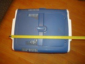 Фото - габариты автомобильного компрессорного холодильника-морозильника, d-a.d-cd.net