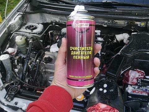 Очиститель двигателя автомобиля своими руками