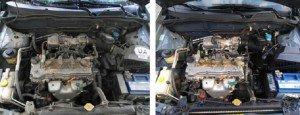 Фото - вот как правильно вымыть двигатель автомобиля, nissan-moscow.ru