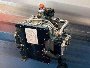 На фото - современный газовый двигатель, mirsmazok.ru