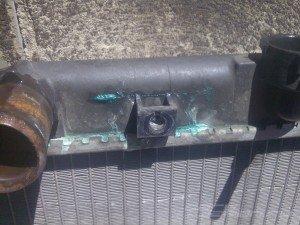 На фото - ремонт герметиком для радиатора автомобиля, avto-life.com