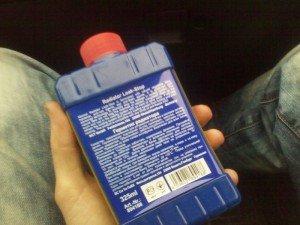 На фото - инструкция по применению герметика для радиатора авто, h-a.d-cd.net