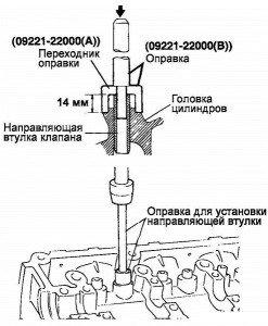 Фото - замена направляющих втулок клапанов, infokostanai.ru
