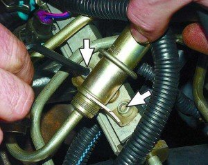 Фото - ремонт регулятора давления топлива, automn.ru