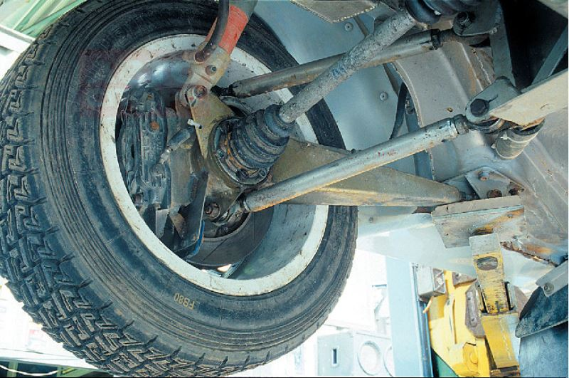 ремонт задней подвески volvo s60 своими руками
