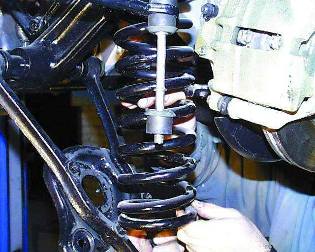 Как проверить пружины подвески своими руками