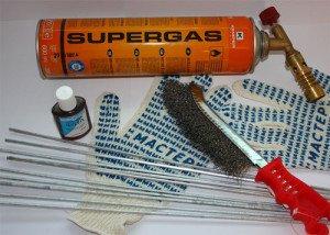 Фото инструментов для пайки радиатора автомобиля, tool-land.ru