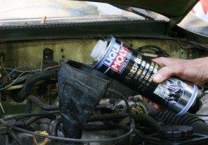 Фото - промывка масляной системы двигателя, autodela.ru