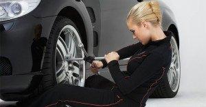 Фото - замена колёс для сезонного хранения шин, ya-lady.net