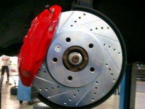 Фото вентилируемого тормозного диска, knclub.ru