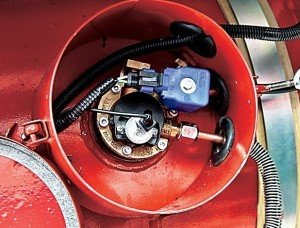 Фото баллона установки ГБО на дизельный двигатель, g-a.d-cd.net