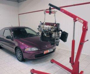 Фото - змена двигателя на другой, auto-sport.ru