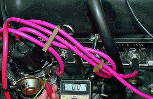 Фото проверки установки момента зажигания, autoprospect.ru
