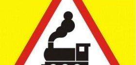 Фото знака железнодорожного переезда без шлагбаума, shop.its-spc.ru