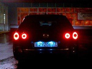Фото фонарей заднего хода, b6club.ru