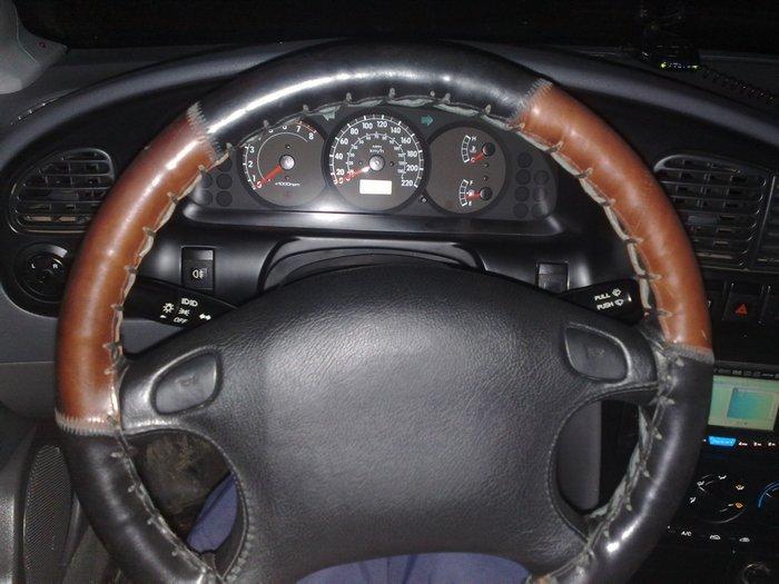 Накладки на руль своими руками