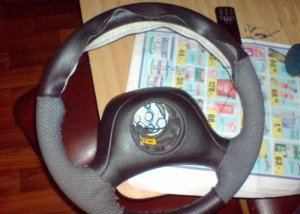Фото прикладывания заготовки к рулю, drive2.ru