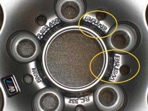Фото параметров автомобильных дисков, tireville.com.ua