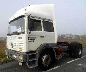На фото - грузовик с пневмоподушками, capfa.ru