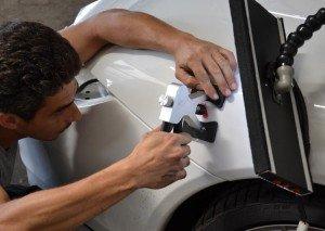 Фото ремонта кузова автомобиля без покраски