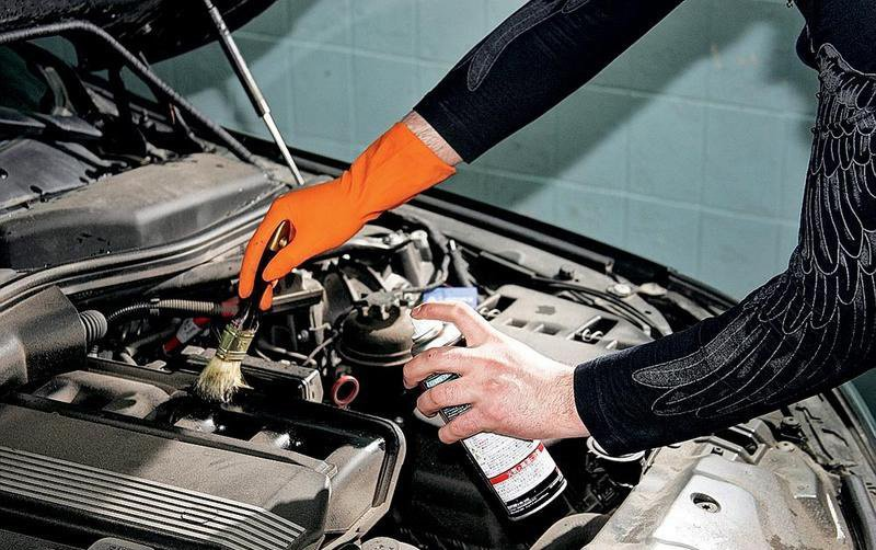 Средство для мойки двигателя автомобиля – выбор и применение + ...