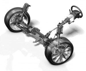 Фото устройства рулевой рейки