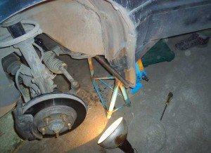 Фото замены рулевых наконечников
