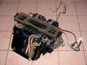 Фото установки кондиционера в авто, drive2.ru