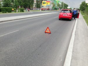 Фото расстояния до знака аварийной остановки, avtovox.ru