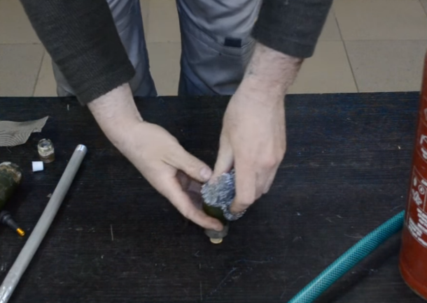 Установка металлического ёршика