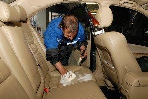 Фото химчистки салона автомобиля, avtopolirovka.by