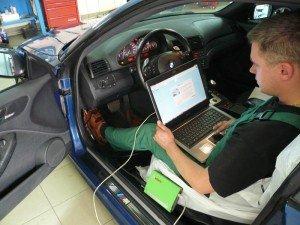 На фото - оборудование для диагностики дизельного двигателя, diesel-help.ru
