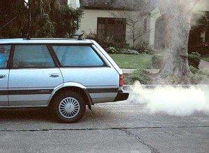 Фото белого дыма дизельного двигателя, blog.auto-sklad.com