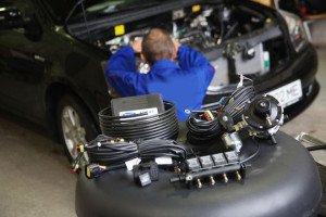 Фото замены дизеля на газовое оборудование, elpigaz.ru