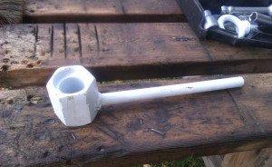 Фото приспособления для снятия гайки шкива коленвала, mikrob.ru