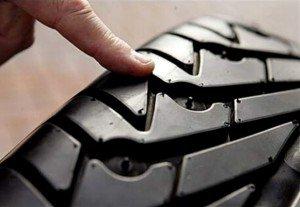 Фото проверки износа шин, bestp.ru