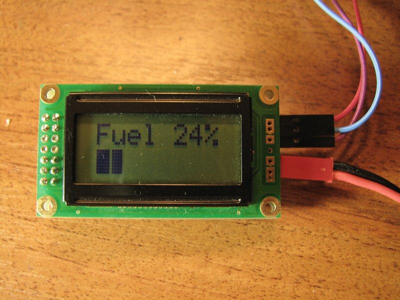 digital fuel indicator